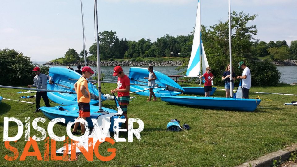 Youth sailing lessons Mississauga
